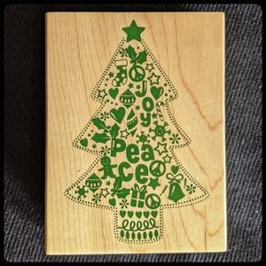 Recollections Christmas Tree Stamp